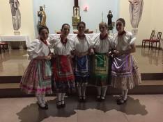 Zrínyis lányok a Szent István templomban São Pauloban