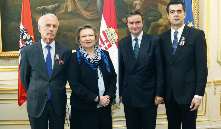 Ünnepi megemlékezés Magyarország Bécsi Nagykövetségén az 1848/49-es forradalom és szabadságharc 170. évfordulóján