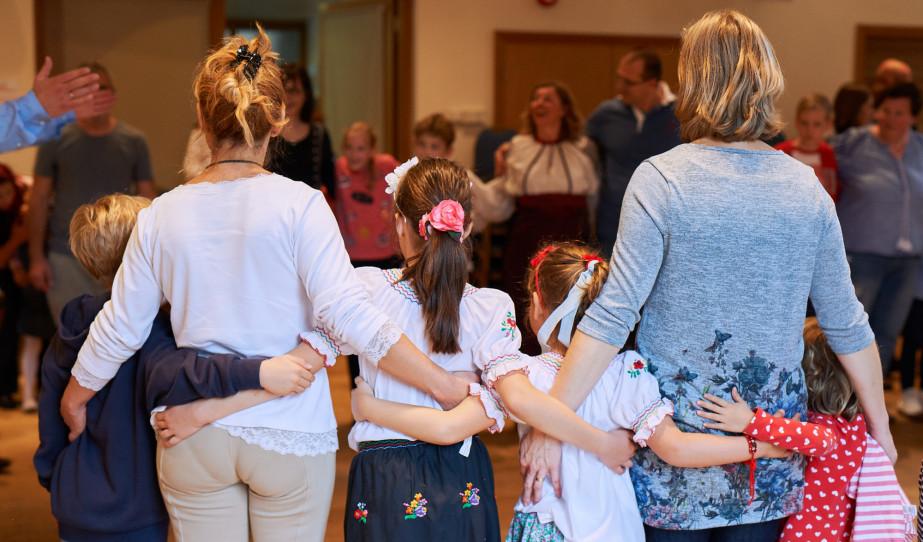 Népzene és táncház a magyar gyerekeknek Guildfordban / fotó: Kelemen Lehel