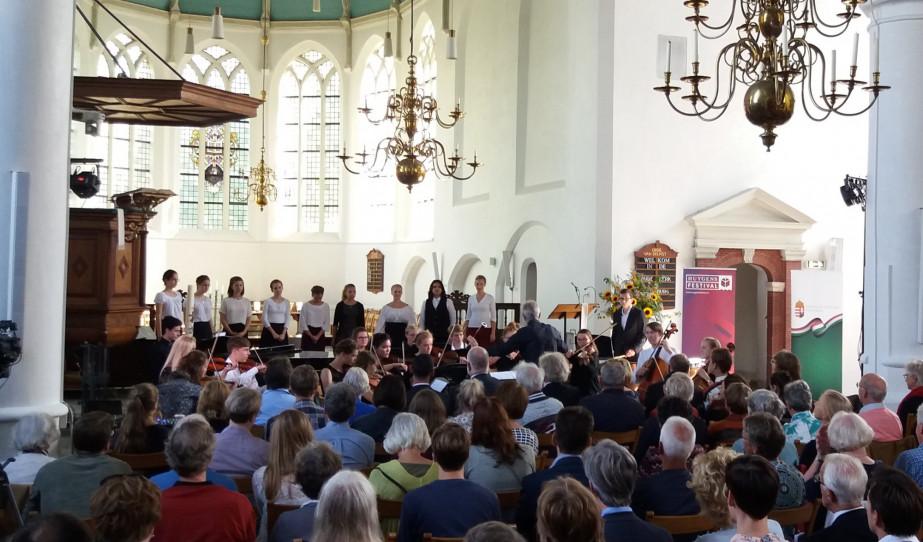 Klasszikusok művei Hollandiában, a Huygens Fesztiválon