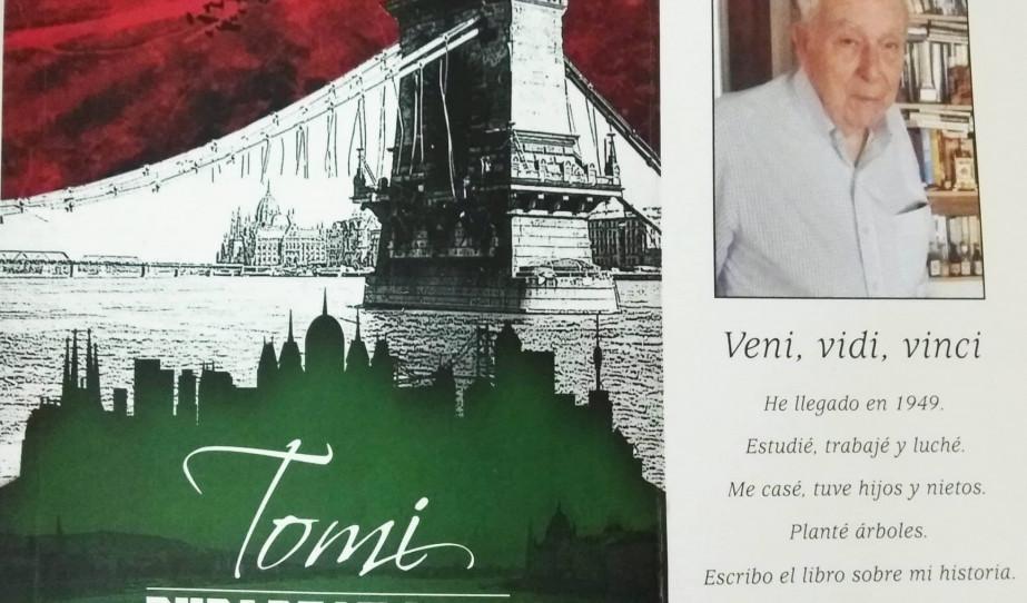 Könyvbemutató Buenos Aires-ben: Tomi, Budapest 1944