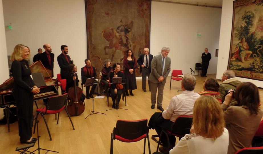 Hangverseny és előadás a Buenos Aires-i  Szépművészeti Múzeumban