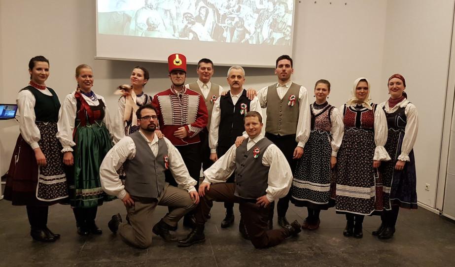 Bécs. Ünnepi megemlékezés az 1848/49-es forradalom és szabadságharc 171. évfordulóján