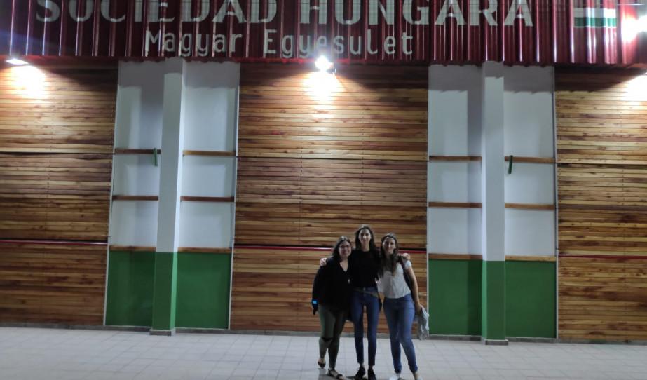 Paraguayi magyarok látogatása az argentínai Villa Angela-ban