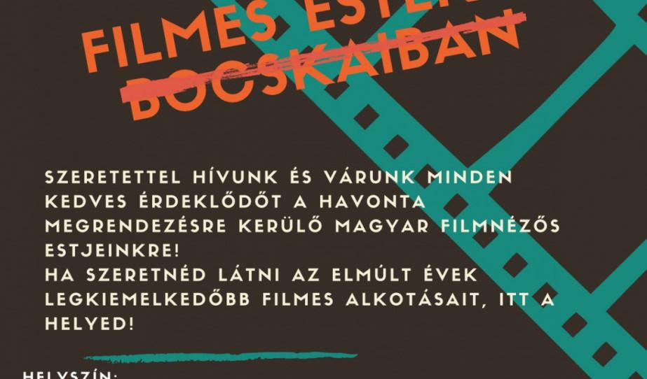 Magyar filmestek a Bocskai Központban