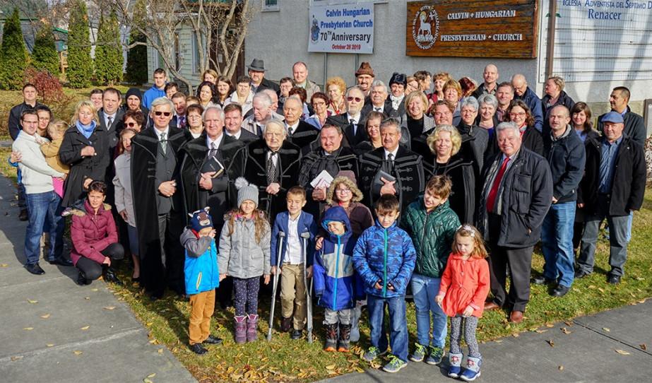 Az edmontoni református közösség bemutatása