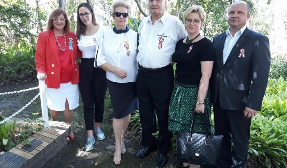 Forradalmi megemlékezés a Marsdeni Magyar Házban.