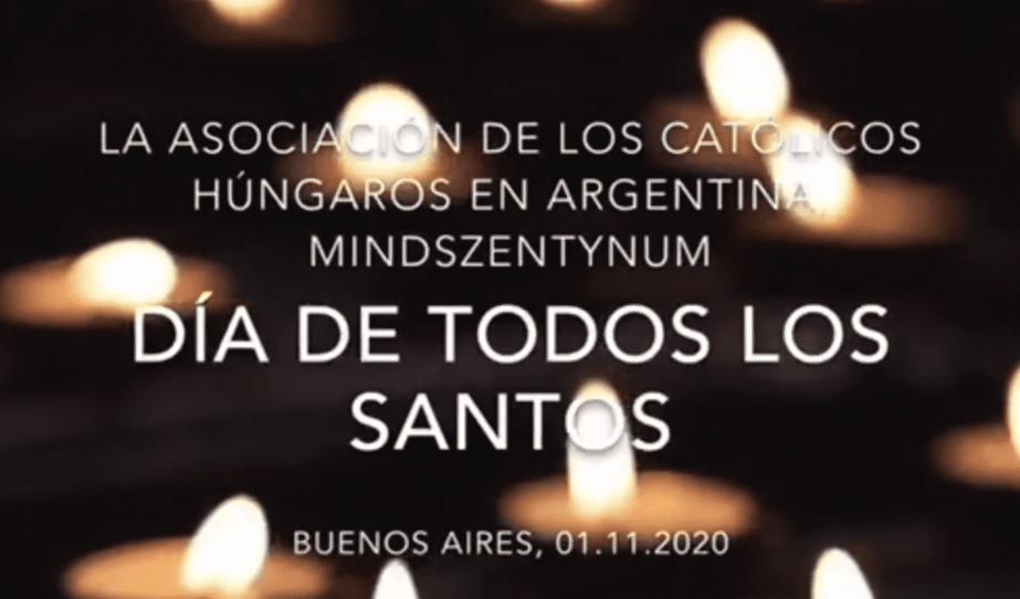 Mindenszentek ünnepe, halottak napja Buenos Airesben
