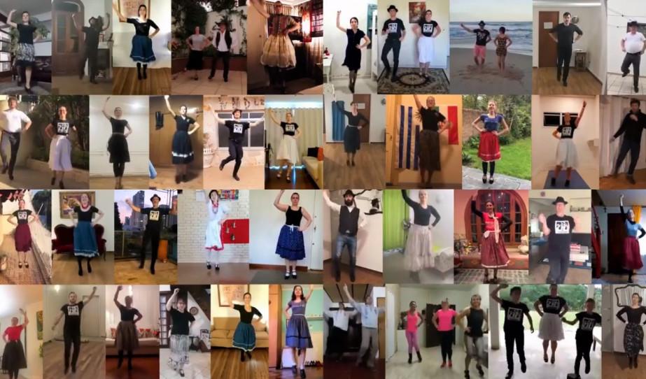 1000 táncos - 450 koreográfia