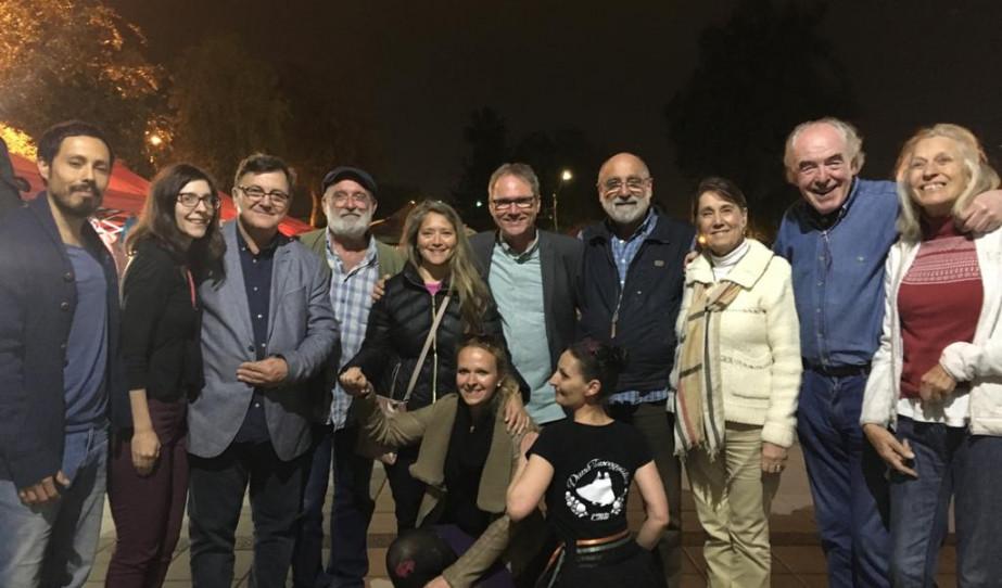 Chilében az 50 éves Kaláka Együttes