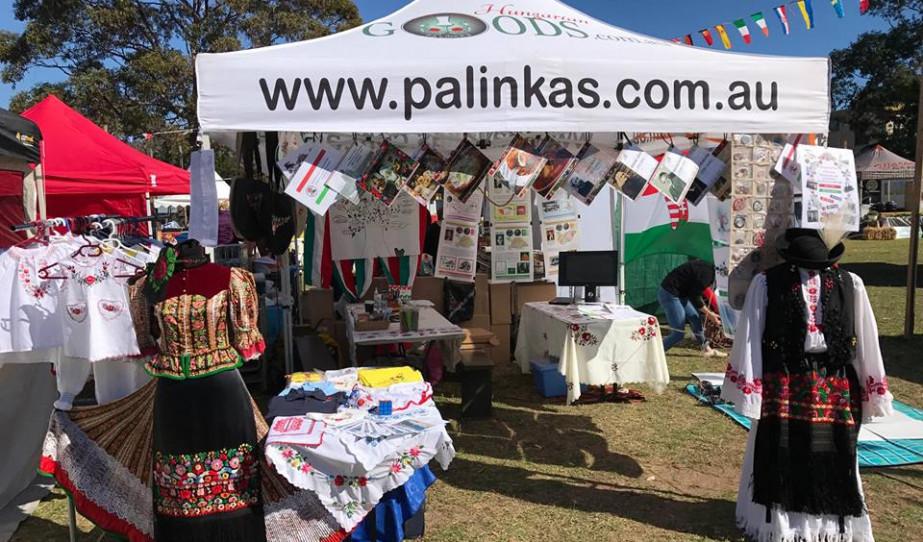 Magyar sátor Sydney-ben, az Eurofest-en
