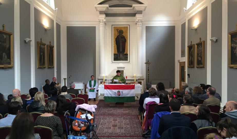 Magyar nyelvű szentmise Dublinban