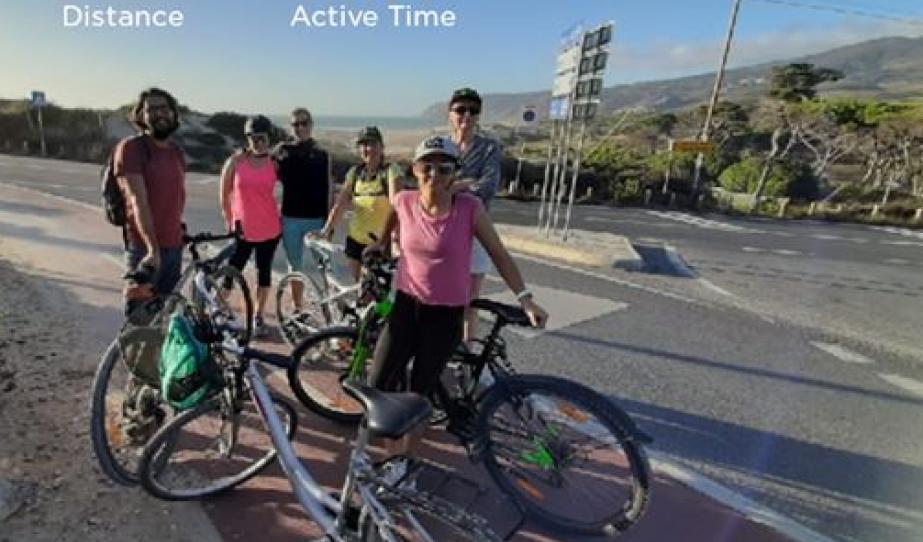 Biciklitúra az óceánparton