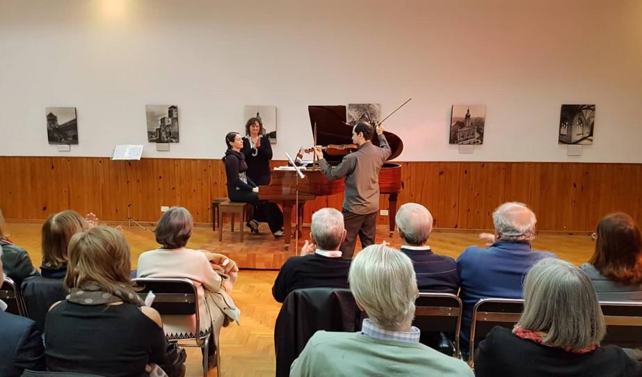 Inés Panzone és Jacinto Ronan koncertje