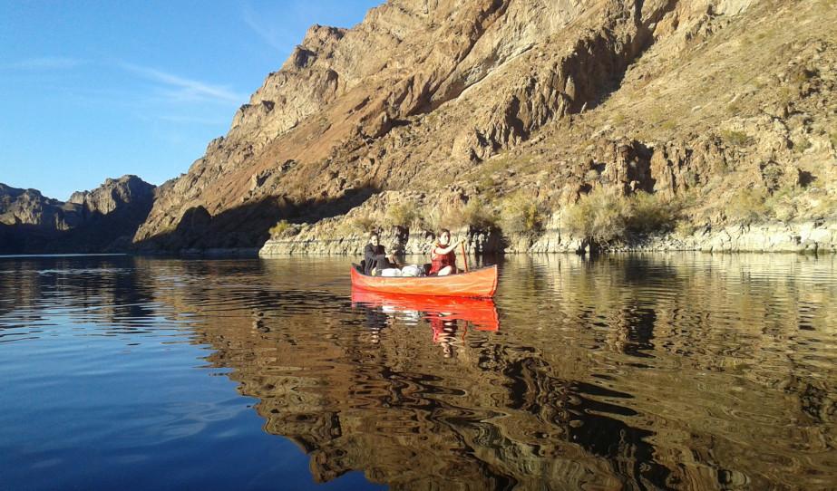 A Los Angeles-i cserkészek 51. kenutúrája a Colorado folyón