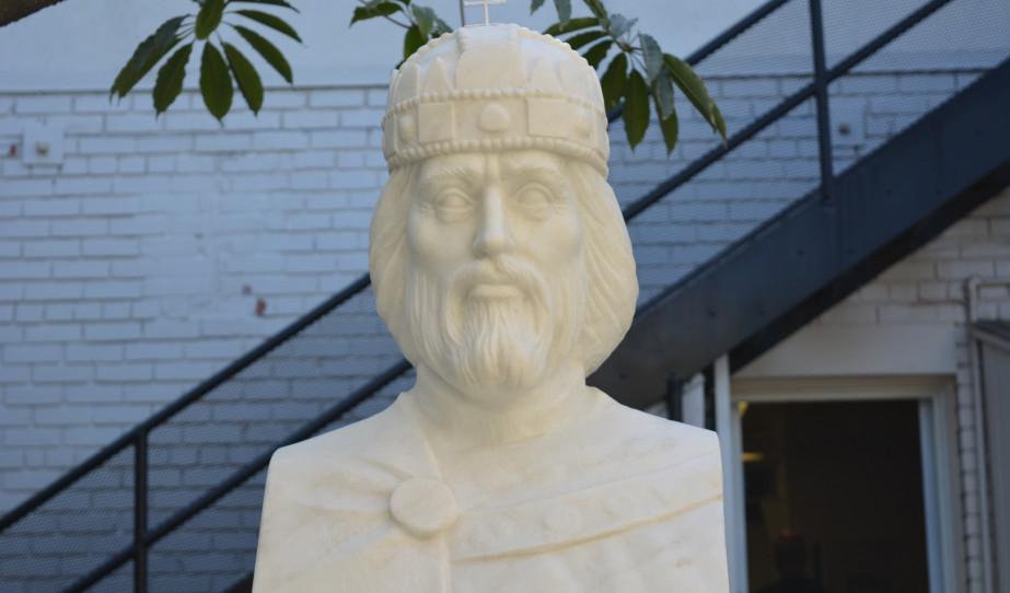 Szent István-szobor avatása Los Angeles-ben