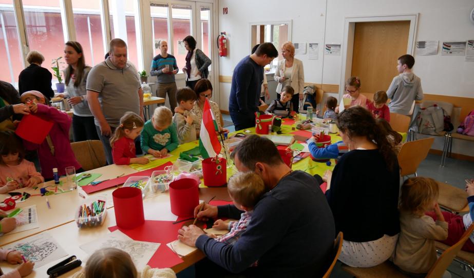 Március 15-i programok a Nürnbergi Magyar Kultúregyesület szervezésében