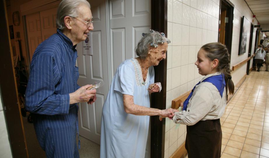 Karácsonyi kántálás a Hamiltoni Szent Erzsébet Otthonban