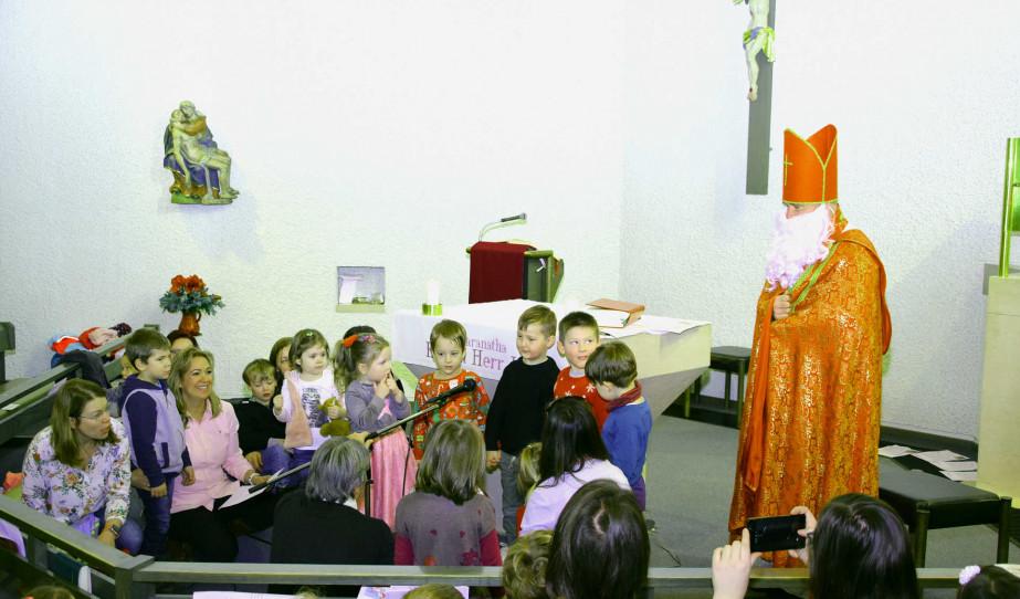 Szent Miklós püspök és a gyermekek