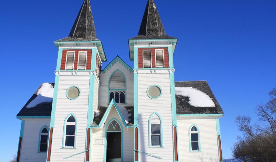 A békevári magyar templom