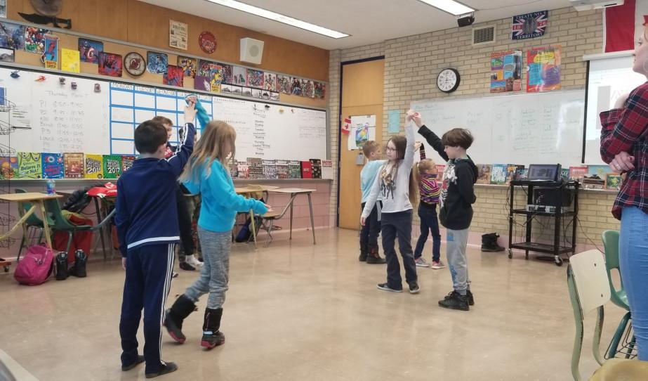 A saskatooni magyar iskola kisdiákjainak főpróbája