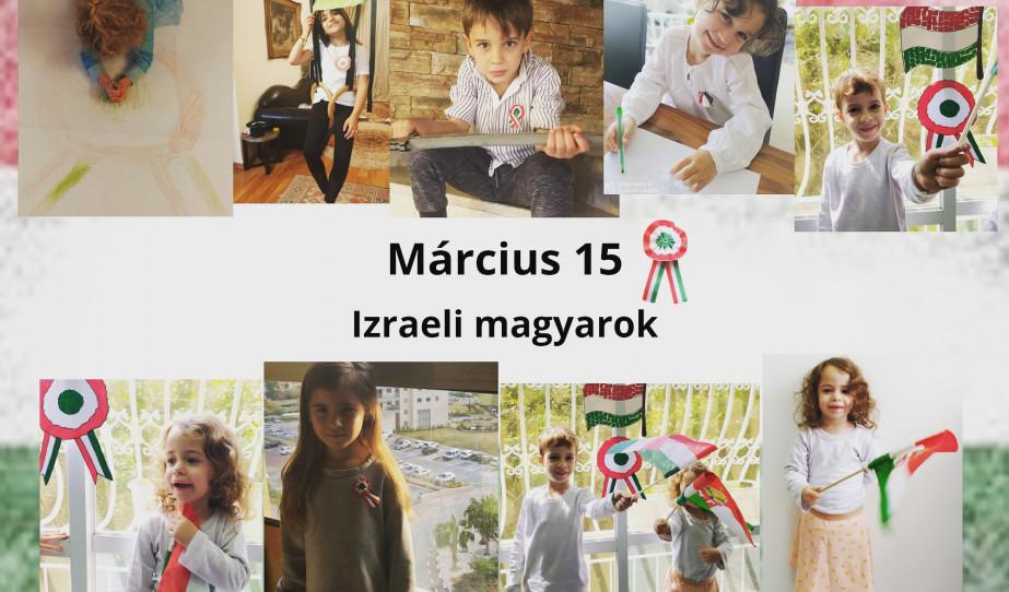 Március 15 Izraelben