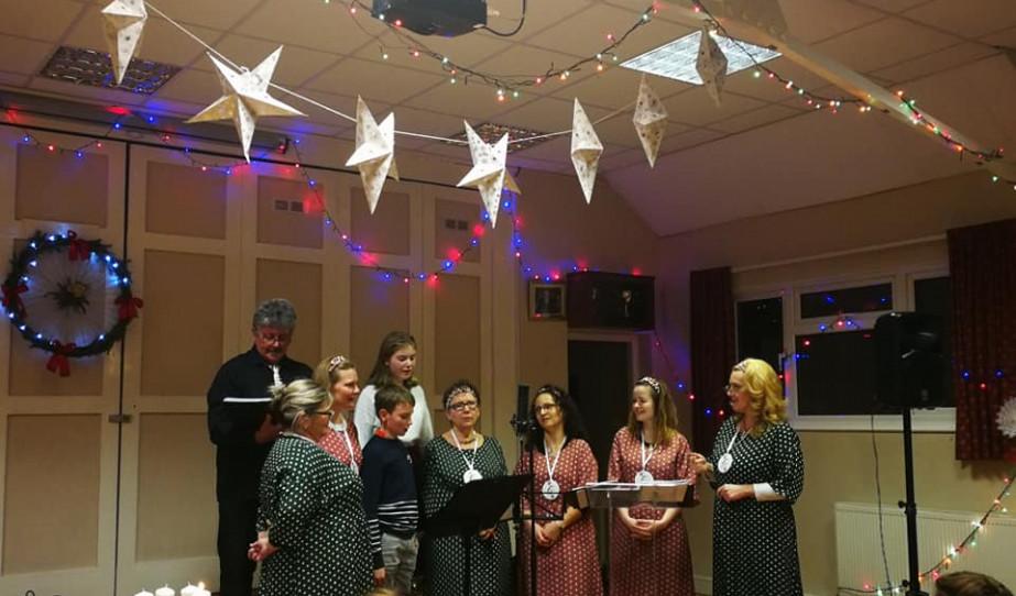 Southendi Magyar Dalárda az Adventi Koncerten