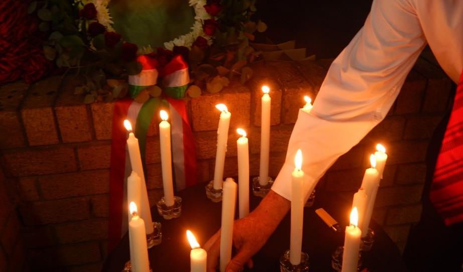 Október 23-i ünnepség Midrandben