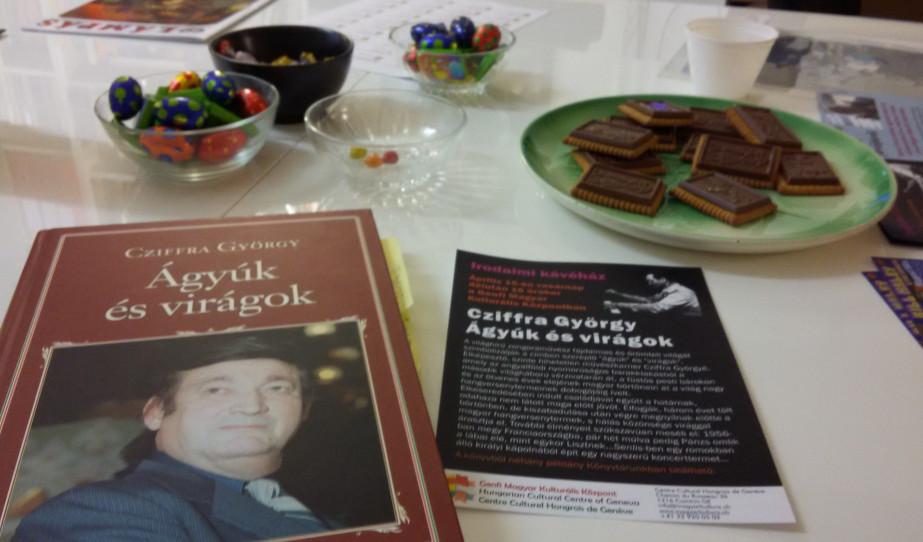 Irodalmi kávéház Cziffra Györgyről
