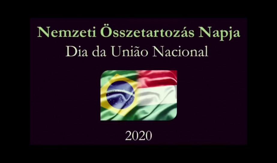 Gondolatok Brazíliából a Nemzeti Összetartozás Napja alkalmából 2020