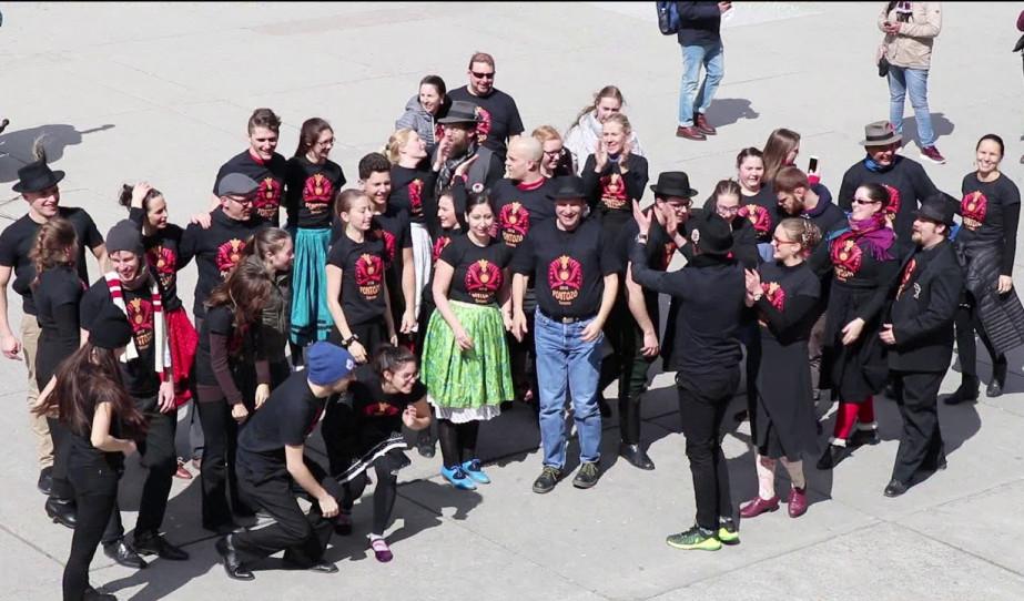 Kalotaszegi flash-mob Torontóban! Pontozó 2018