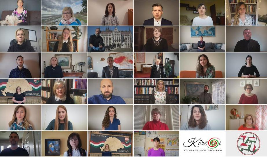 A kanadai magyarok közös előadása a  Költészet Napja alkalmából