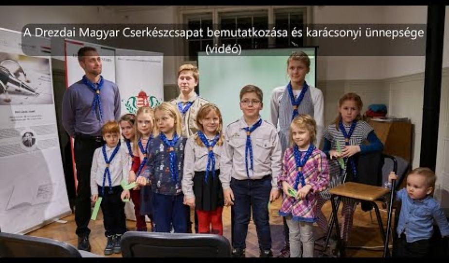 A Drezdai Magyar Cserkészcsapat karácsonyi ünnepsége