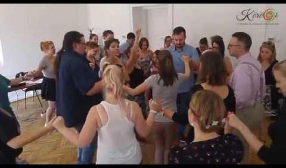 Kőrösi Csoma Sándor Program 2016 - Kanada, USA flashmob próba
