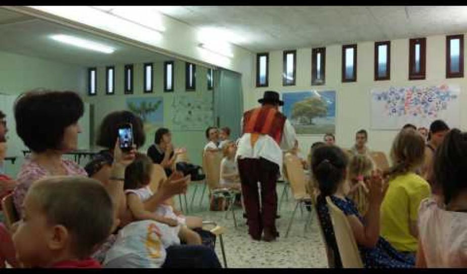 Gulyás László vándormuzsikus előadása Genfben