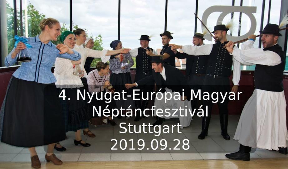 Nyugat-Európai Magyar Néptáncfesztivál, Stuttgart