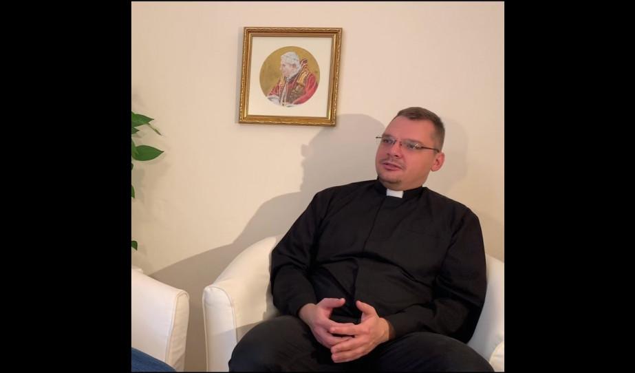 Beszélgetés Balga Zoltán atyával, a prágai katolikus misszió plébánosával