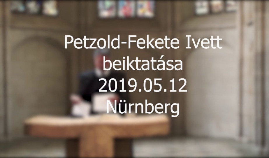 Petzold-Fekete Ivett beiktatása