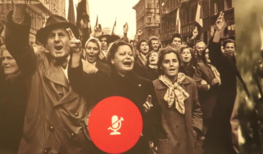 Megemlékezés Stuttgartban az 1956-os forradalomról