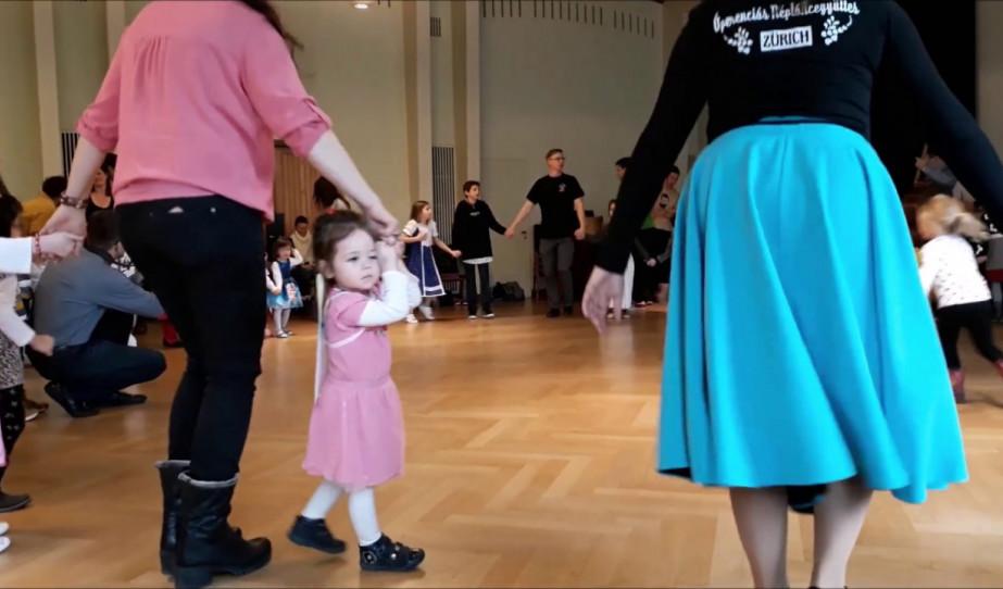 Gyermek táncház Zürichben