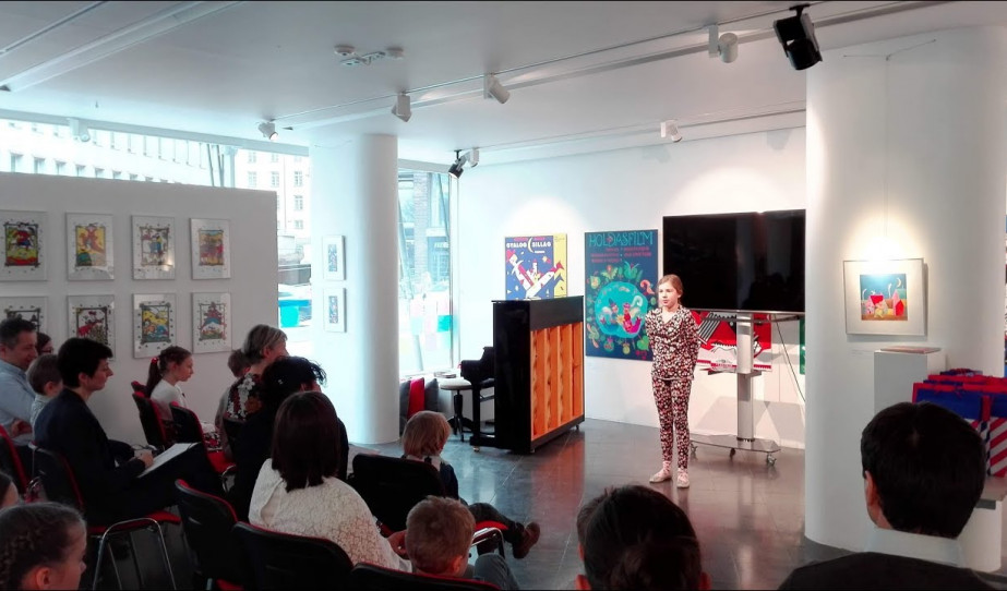 Magyar versek és illusztrációk a költészet napján Helsinkiben