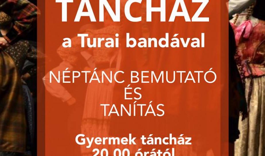 Batyubálas táncház Genfben a Turai bandával