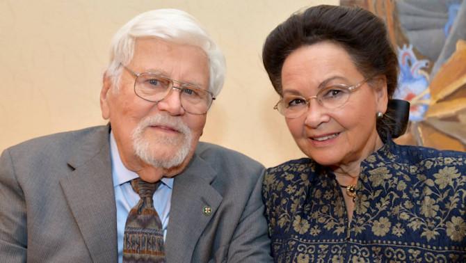 Bőjtös László tiszteletbeli főkonzul és felesége Györgyi