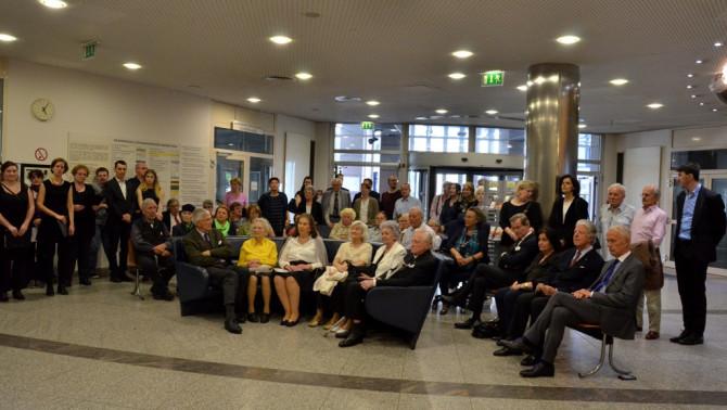 Mindszenty megemlékezés Bécsben - Ünneplő közösség