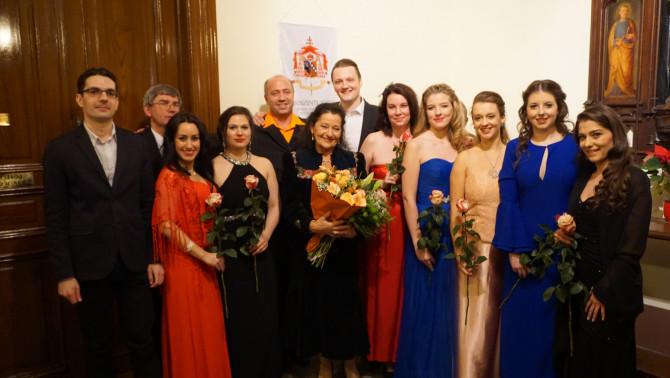 Opera-ének mesterkurzus Bécsben Tokodi Ilona és Muskát András művészekkel