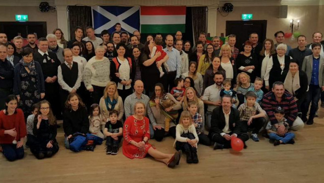 Magyar Nemzeti Nap Skóciában