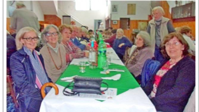 A magyar disznótoros vendégei