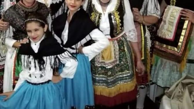 Magyar néptánccsoport