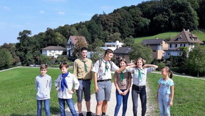 Úton a Zürichberg felé