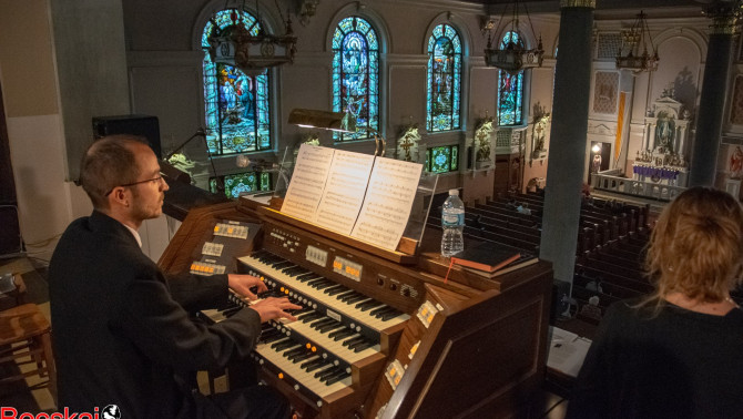 Orgonakoncert Clevelandben